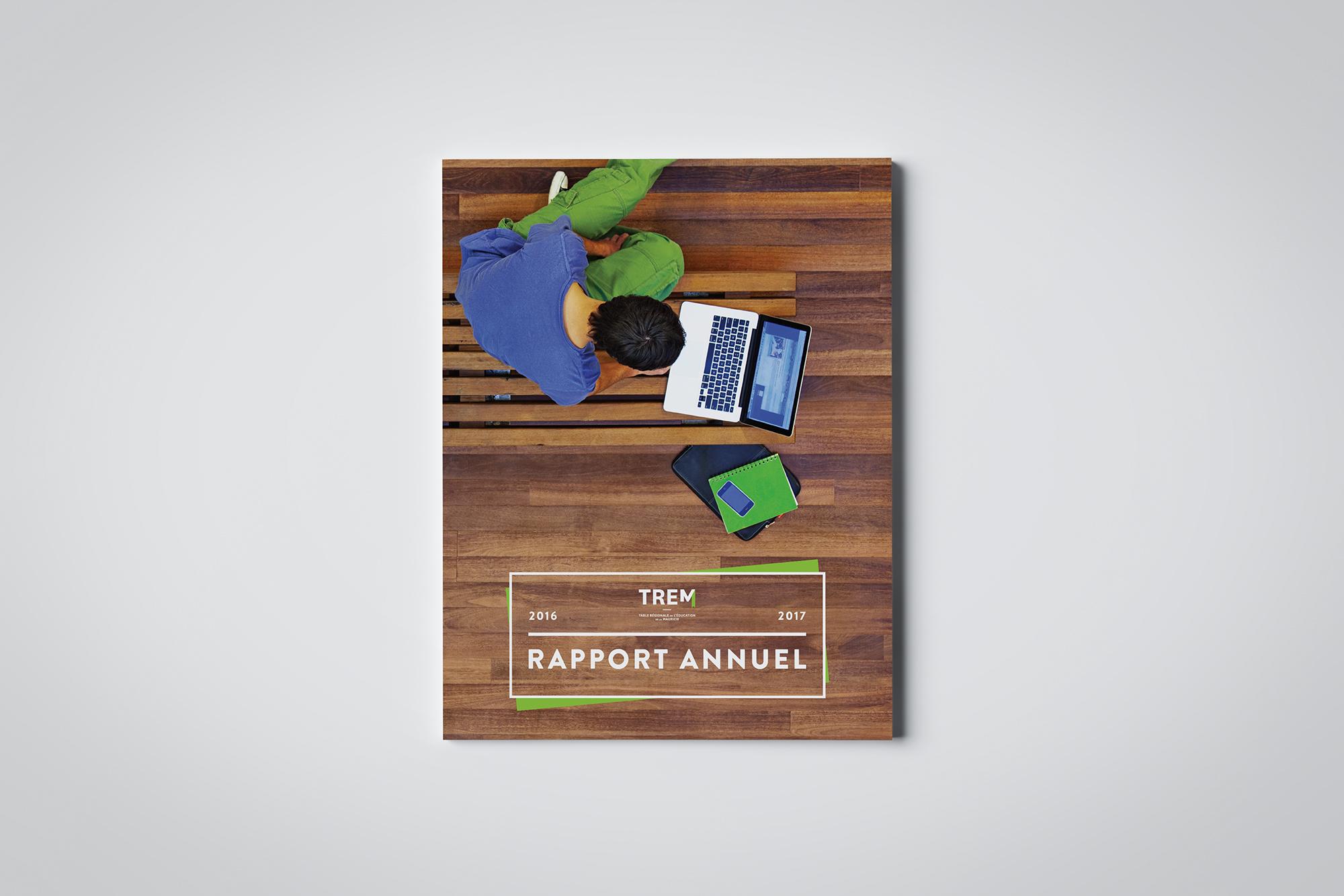 couverture du rapport annuel 2016-2017 de la TREM