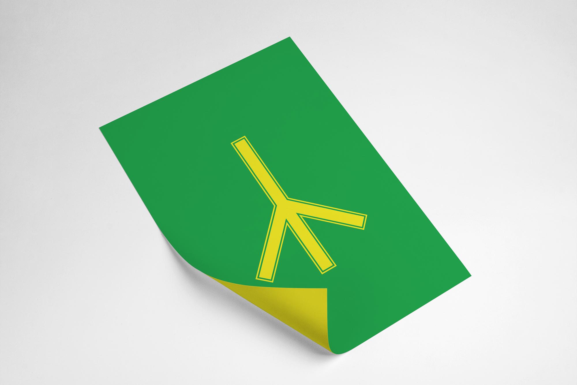 affiche pictogramme toilette hommes Jamaïque